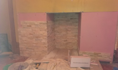 Woodburner - Before